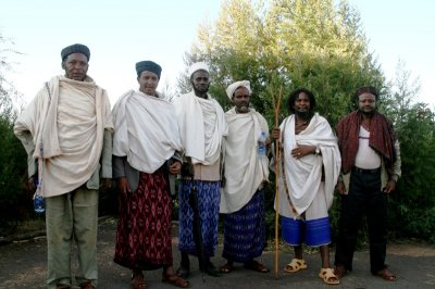 Borana and Gabra elders who participated in discussing cooperatives