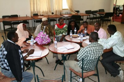 Discussing pastoral policy issues