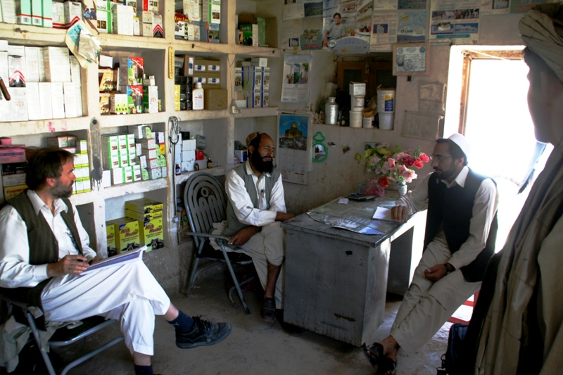 interviewing-a-veterinarian-with-a-drug-store-uruzgan